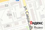 Схема проезда до компании Микс в Нижнем Новгороде