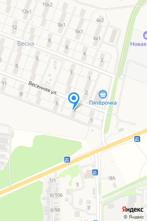 ул. Весенняя, дом 3, ЖК Времена Года на Яндекс.Картах