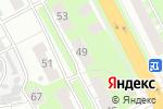 Схема проезда до компании Авто факультет в Нижнем Новгороде