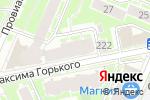 Схема проезда до компании Принт-сервис в Нижнем Новгороде