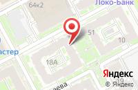Схема проезда до компании Mixx в Нижнем Новгороде