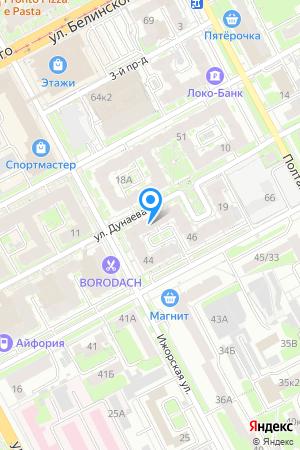 Дом 15 по ул. Дунаева на Яндекс.Картах