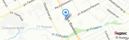 Центрсервис-ГС на карте Нижнего Новгорода