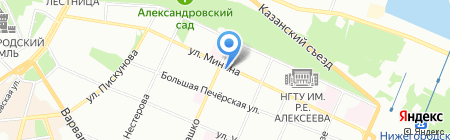 Бизнес Свет на карте Нижнего Новгорода