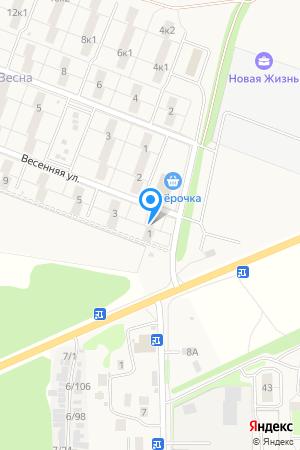 ул. Весенняя, дом 1, ЖК Времена года на Яндекс.Картах