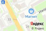 Схема проезда до компании Принт-Центр в Нижнем Новгороде