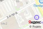 Схема проезда до компании LashExpert в Нижнем Новгороде