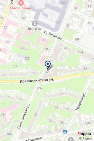ЕВРОСТРОЙ на карте Нижнего Новгорода