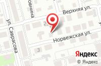 Схема проезда до компании Терси-М в Нижнем Новгороде