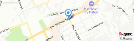 Чемпион-Нефтепродукт на карте Нижнего Новгорода
