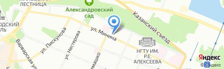 ПУЛЬТ.ру на карте Нижнего Новгорода