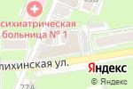 Схема проезда до компании Сеть парикмахерских в Нижнем Новгороде