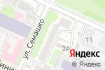 Схема проезда до компании Чувствина & Буденная в Нижнем Новгороде