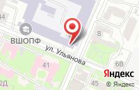 Схема проезда до компании Краб в Нижнем Новгороде