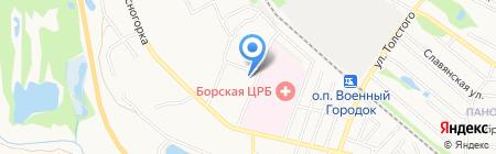 Юлианна на карте Бора