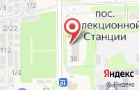 Схема проезда до компании Зоотехнологии в Федяково