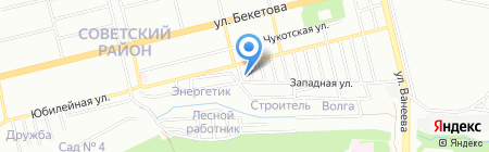 Миас на карте Нижнего Новгорода