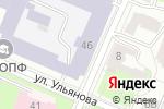 Схема проезда до компании Скада в Нижнем Новгороде