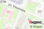 Схема проезда до компании РеСтро в Нижнем Новгороде