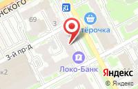 Схема проезда до компании Анубис в Нижнем Новгороде