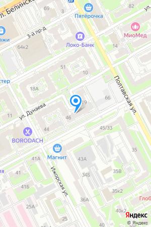 Дом 46 по ул. Генкиной на Яндекс.Картах
