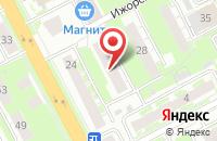 Схема проезда до компании Мкат в Нижнем Новгороде