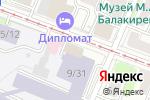 Схема проезда до компании Фабрика печатей в Нижнем Новгороде