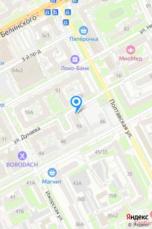 Дом 19 по ул. Дунаева на Яндекс.Картах