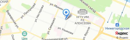 Зефс-Энерго на карте Нижнего Новгорода