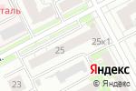 Схема проезда до компании Эрком в Нижнем Новгороде