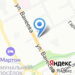 Марина на карте Нижнего Новгорода