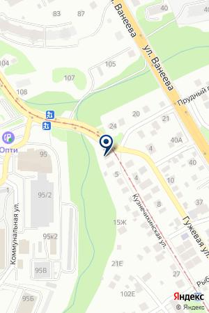 КАФЕ ФОРУМ на карте Нижнего Новгорода