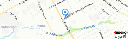 Сигнал плюс на карте Нижнего Новгорода