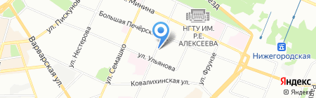 Салон камня-НН на карте Нижнего Новгорода
