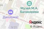 Схема проезда до компании Классическая йога в Нижнем Новгороде
