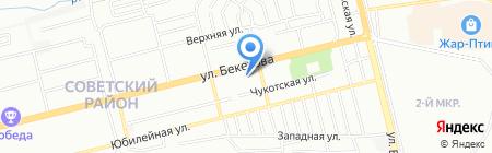 Пивной дворик на карте Нижнего Новгорода