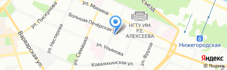 TourPay на карте Нижнего Новгорода