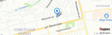 Прас-НН на карте Нижнего Новгорода