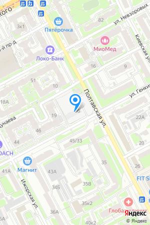 Дом 66 по ул. Генкиной на Яндекс.Картах