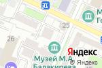 Схема проезда до компании Рембыттехсервис в Нижнем Новгороде