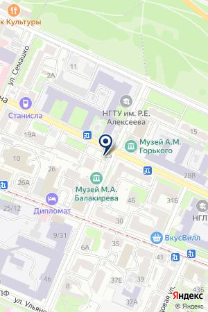 МАСТЕРСКАЯ GSM-СЕРВИС на карте Нижнего Новгорода