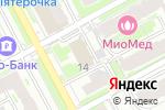 Схема проезда до компании ВОКБАНК в Нижнем Новгороде