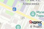 Схема проезда до компании Top Hot Dog в Нижнем Новгороде