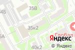 Схема проезда до компании Апрель в Нижнем Новгороде