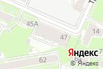 Схема проезда до компании Корифей в Нижнем Новгороде