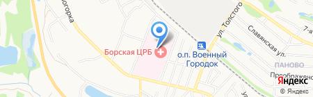 Банкомат Волго-Вятский банк Сбербанка России на карте Бора