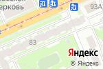 Схема проезда до компании Beauty в Нижнем Новгороде