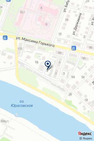 БОРСКАЯ ЖЕНСКАЯ КОНСУЛЬТАЦИЯ № 1 на карте Бора