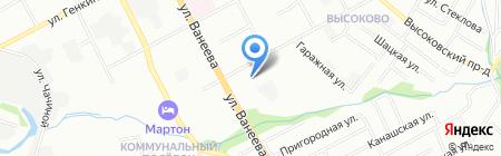 КраскИнвер на карте Нижнего Новгорода