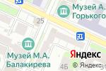 Схема проезда до компании Виза в Нижнем Новгороде